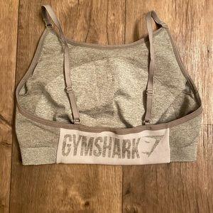 Gymshark flex khaki sports bra size large